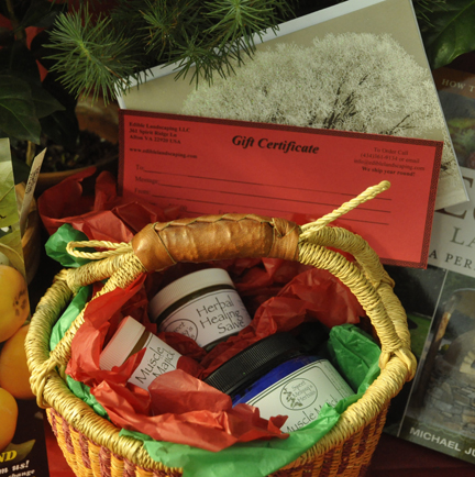 Christmas Basket Gift Certificate